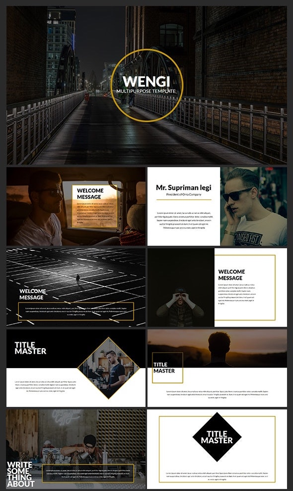 Best Abstract Keynote Templates